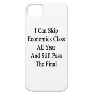Puedo saltar la clase de la economía todo el año y iPhone 5 Case-Mate cobertura