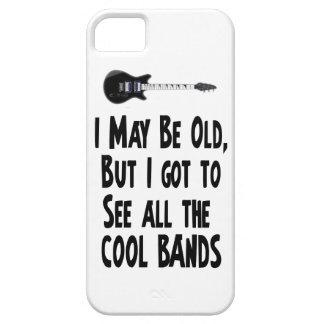 ¡Puedo ser bandas viejas, frescas! Funda Para iPhone SE/5/5s
