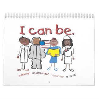 """""""Puedo ser"""" calendarios de los niños"""