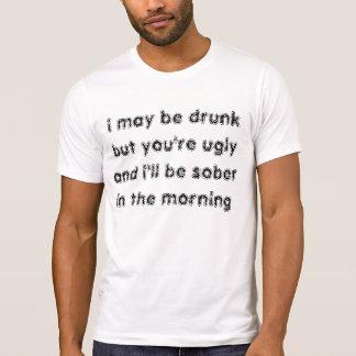 puedo ser camiseta borracha playera