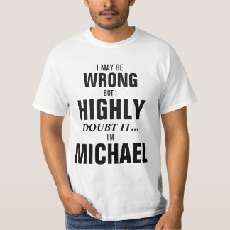 Puedo ser incorrecto pero dudo que yo sea Michael Polera