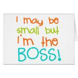Puedo ser pequeño pero Im Boss Tarjetón