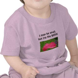 ¡Puedo ser pequeño pero soy BOSS! Bebé de las Camisetas