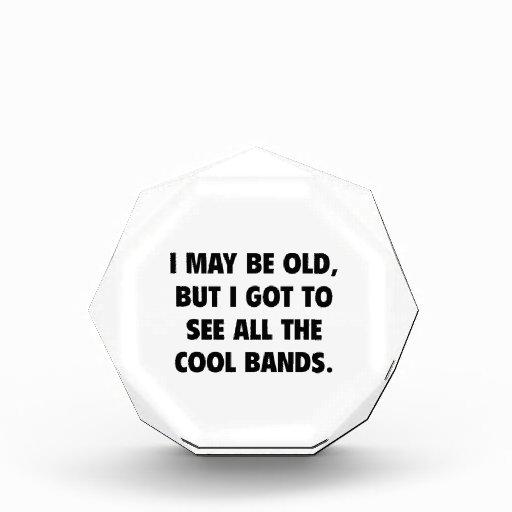 Puedo ser viejo pero conseguí ver todas las bandas