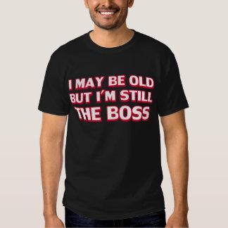 Puedo ser viejo pero sigo siendo el jefe polera
