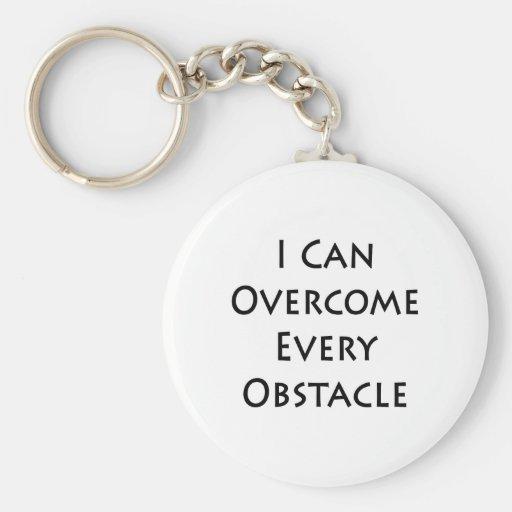 puedo superar cada obstáculo llavero
