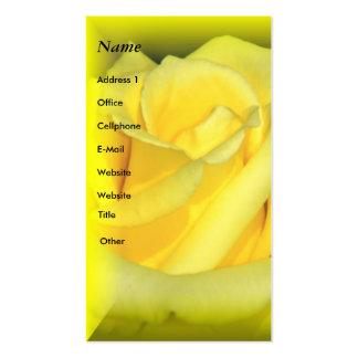 Puedo tarjeta de Rise_Profile Tarjetas De Visita