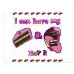puedo tener mi torta y comerla postal