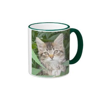¿Puedo tener un poco de café? ¡PURR-TY por favor! Tazas De Café