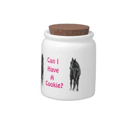 Puedo tener un tarro de galletas de la galleta plato para caramelo