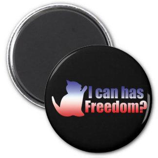 Puedo tengo libertad en los E E U U Iman De Nevera