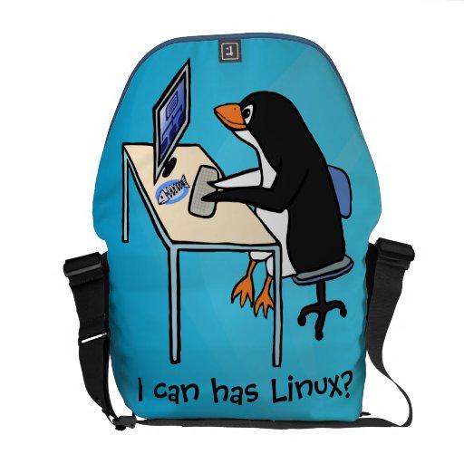 ¿Puedo tengo Linux? Bolsa De Mensajeria