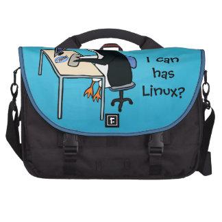 ¿Puedo tengo Linux? Bolsas De Portátil