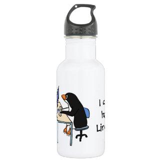 ¿Puedo tengo Linux? Botella De Agua De Acero Inoxidable