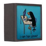¿Puedo tengo Linux? Caja De Recuerdo De Calidad