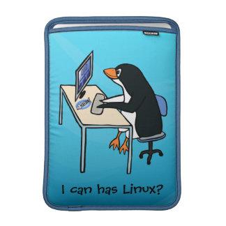 ¿Puedo tengo Linux? Funda Para Macbook Air