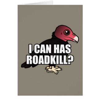 ¿Puedo tengo Roadkill? Tarjeta Pequeña