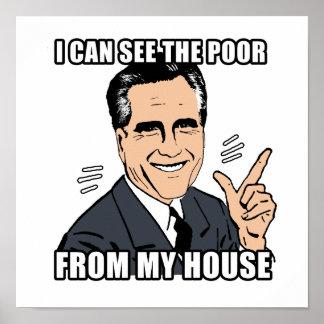 puedo ver a los pobres de mi casa - .png posters