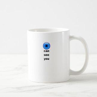Puedo verle extenderse tazas de café