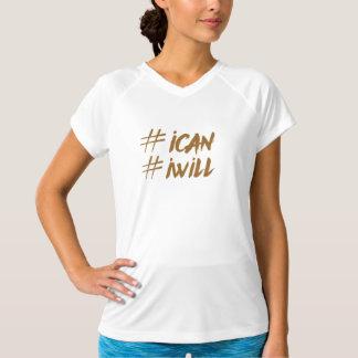 Puedo yo camiseta del hashtag
