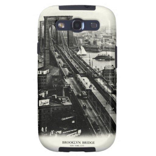 Puente 1900 de Brooklyn Galaxy S3 Protector