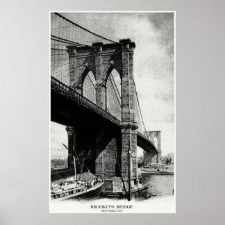 Puente 1900 de Brooklyn Posters