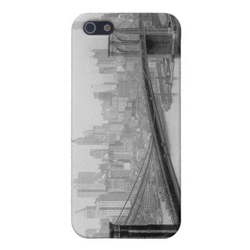 Puente 1915 de Brooklyn y Manhattan New York City iPhone 5 Fundas