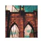 Puente 2011 de Brooklyn Impresión En Lona Estirada