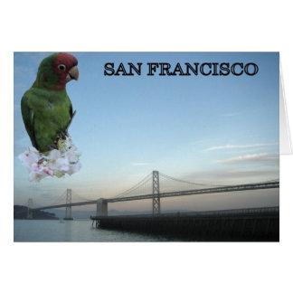Puente 2 de San Francisco Bay Felicitación