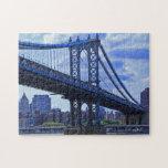 Puente A2 de Manhattan de NYC Puzzle