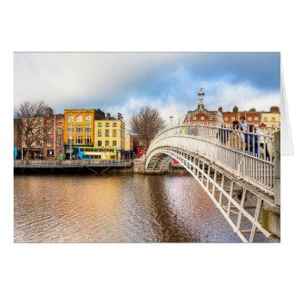 Puente agraciado del medio penique - Dublín, Felicitaciones