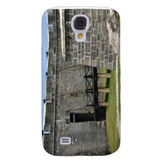 Puente al fuerte de St Augustine a través de la fo Funda Para Galaxy S4