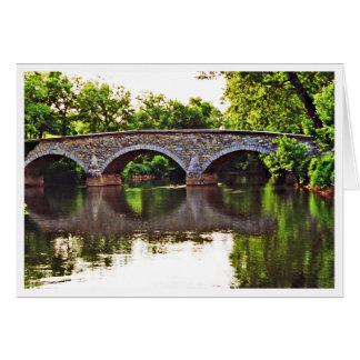 Puente Antietam de Burnside Tarjeta Pequeña