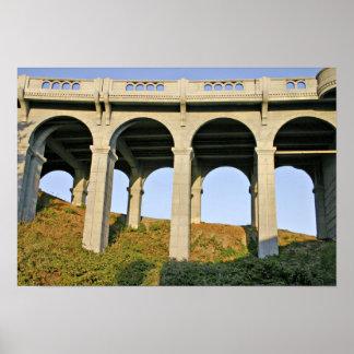 Puente arqueado del monumento de Patterson de las  Impresiones