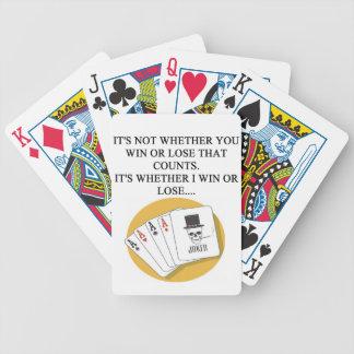 puente baraja de cartas