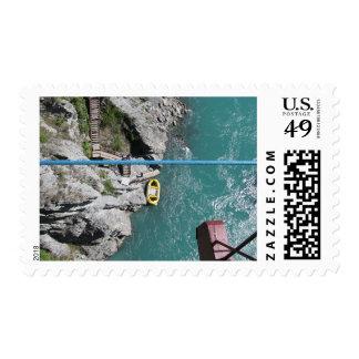 Puente Bungy POV, Queenstown, Nueva Zelanda de Sellos Postales