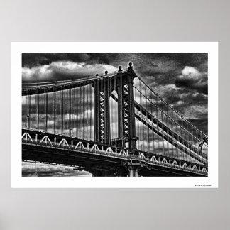Puente BW A1 de Manhattan de NYC Impresiones