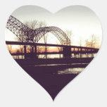 puente colcomanias corazon