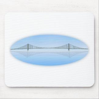Puente colgante de Akashi Kaikyo: aka puente de la Mouse Pads