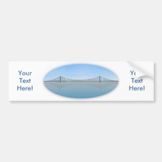 Puente colgante de Akashi Kaikyo: aka puente de la Pegatina Para Auto