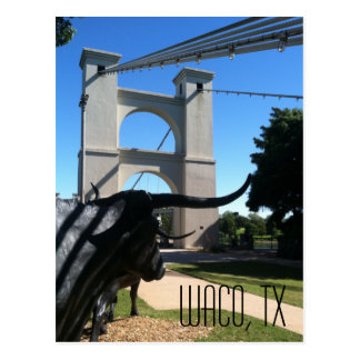 Puente colgante de Waco Postales
