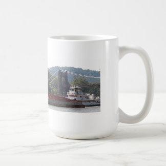 puente colgante del wv de la taza de café de la ta