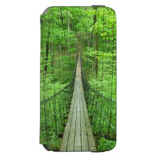 Puente colgante funda billetera para iPhone 6 watson