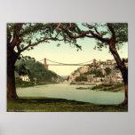 Puente colgante I, Bristol, Inglaterra de Clifton Impresiones