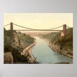 Puente colgante II, Bristol, Inglaterra de Clifton Impresiones