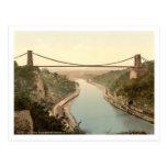 Puente colgante II, Bristol, Inglaterra de Clifton Postales