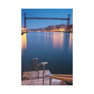 Puente Colgante Impresiones En Lona Estiradas