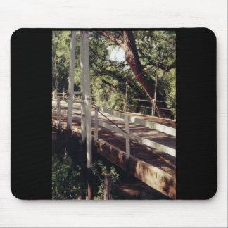 Puente colgante mouse pad