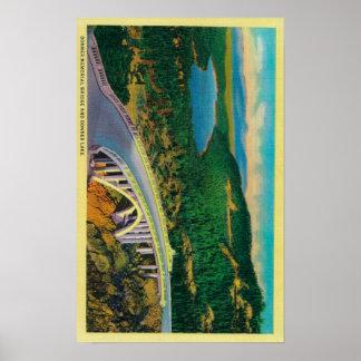 Puente conmemorativo de Donner y Póster