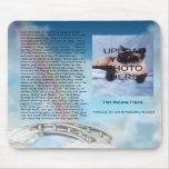 Puente conmemorativo Mousepad del arco iris del ma Alfombrilla De Ratones